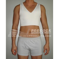 V-Neck Mid Length Binder